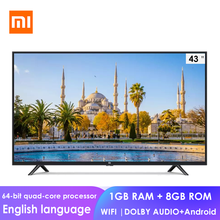 Xiaomi Mi TV Full HD Smart LCD TV 4C 43-inch 64-bit Quad Core 1GB+8GB Dolby Sound Android WIFI Smart Network Flat television