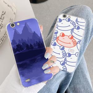 TPU For Girls Phone Case For Infinix Hot3 X554 Hot 3 Cover Original Anti-knock Silicone Brand New