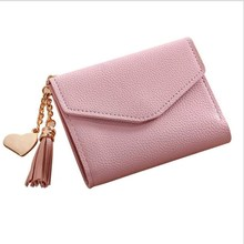 wallet women Womens New series top sales 2018 weave design pu leather