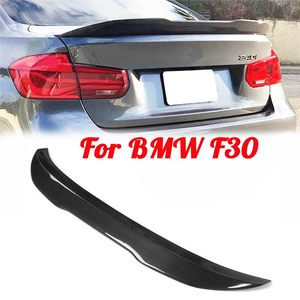 For BMW F30 Spoiler Carbon Fiber Material PSM Style 3 Series 2012 - UP Carbon Fiber Rear Trunk Wings Boot Lip Auto Accessories(China)