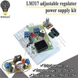 Регулируемый блок питания LM317, источник постоянного тока с постоянной регулировкой, детали для обучения DIY