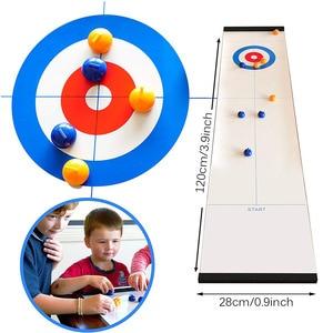 Simulation Curling Sport Toy I