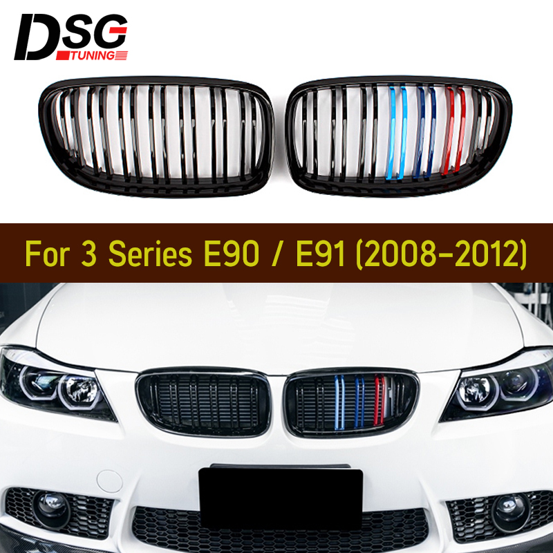 Left Side Front Bumper Lower Grille Grill Fit BMW 5Series F10//11 10-13 Pre-LCI