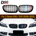 Передний бампер почек гриль для BMW 3 серии E90 E91 LCI 2008-2011 ABS решетка автомобиля Стайлинг