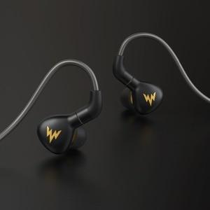 Image 2 - Auriculares deportivos de graves A15 Pro HiFi, de alta resolución, dinámicos, con MMCX, 3,5mm