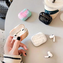Marble Pattern Hard PC Earphone Case For Airpods 3 Pro Case Charging Bag for Apple AirPods 3 Bluetooth Wireless Headphone Cover