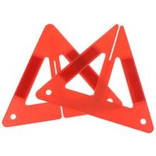 Tripod Sign Warning Triangle Reflector Car Breakdown Safety-Hazard Emergency-Reflective