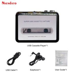 Image 5 - USB לכידת קלטת רדיו נגן נייד USB קלטת כדי MP3 ממיר לכידת אודיו מוסיקה נגן קלטת קלטת
