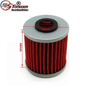 Image 2 - STONEDER 5x filtr oleju dla KAWASAKI KX450F KX250F KX250 SUZUKI RMZ450 RMZ250 RMX450Z FL125 SDW BETA EVO 250 300 SPORT 4 suwowy