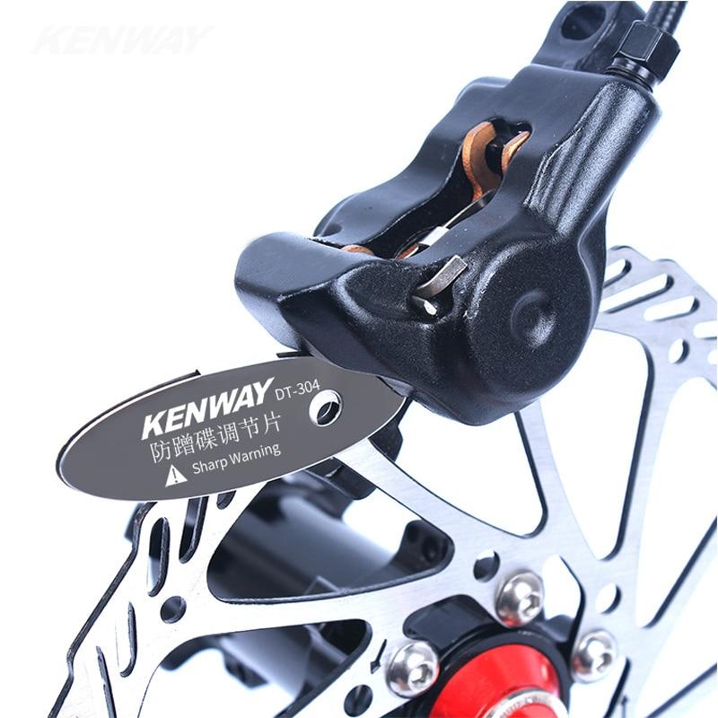 Risk Mountain Bike Disc Brake Pads Regulator Bicycle Mounting Assistant Adjust Tools Brake Pads Spacer Bike Repair Kit-MUSIC