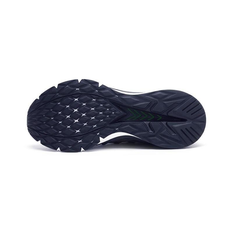 Baskets originales Xiaomi Mijia 3 hommes Sports de plein air Uni-moulage 3D système de verrouillage en arête de poisson tricot hommes supérieurs chaussures de course - 4