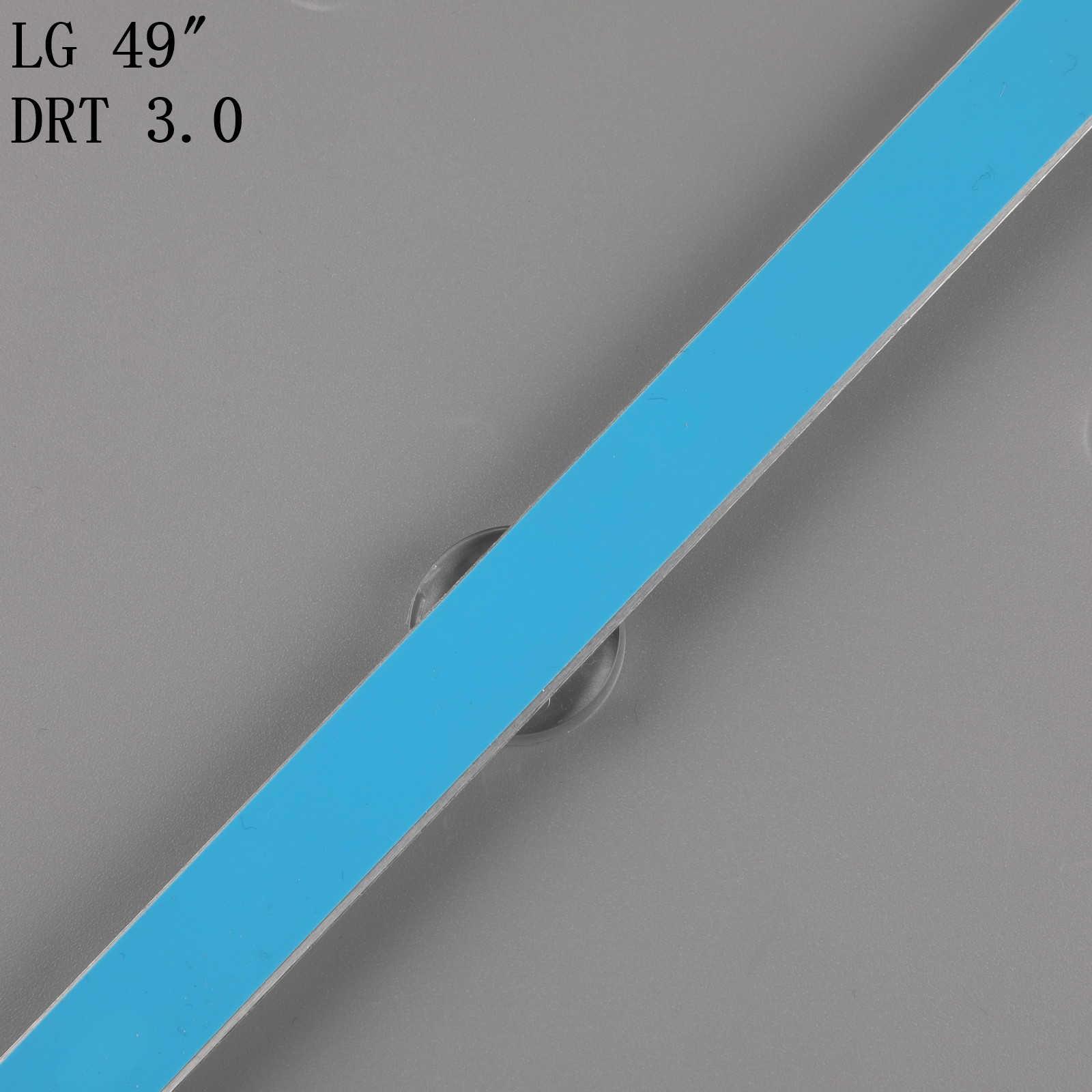 "LED תאורה אחורית מנורת רצועת עבור LG Innotek DRT 3.0 49 ""AB 49LB552 49LB629V AGF78402201 49LB561U 49LB582V 49LF620V 49UF6430 49LB620V"