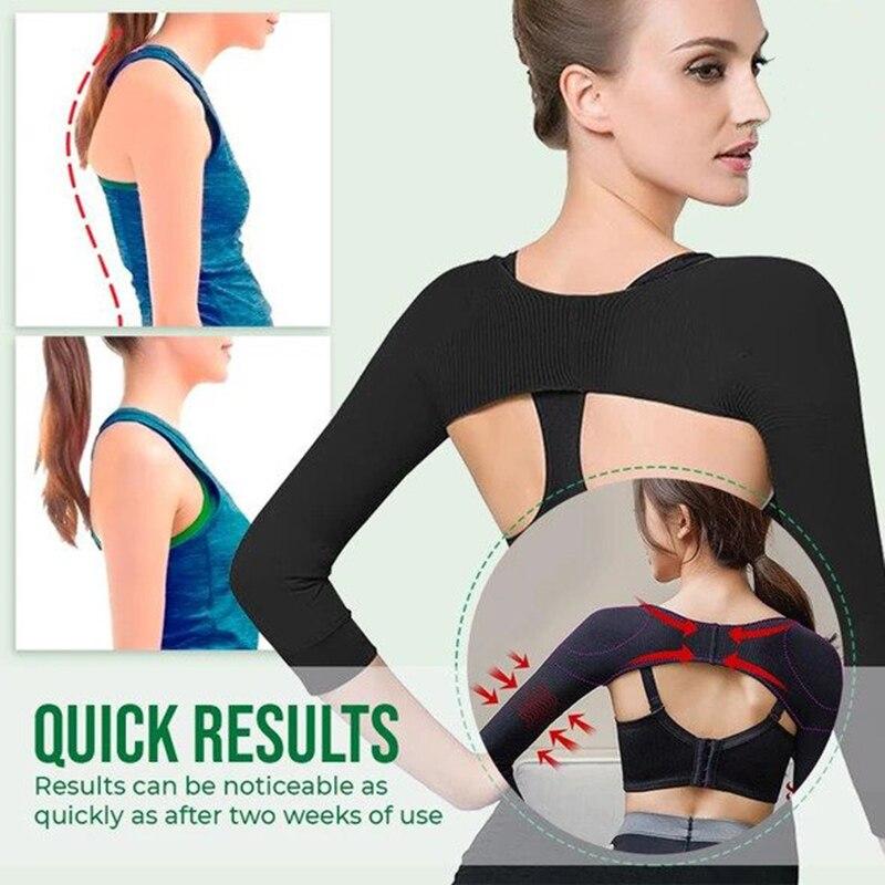 Arm Slimming Back Posture Corrector Sleeves