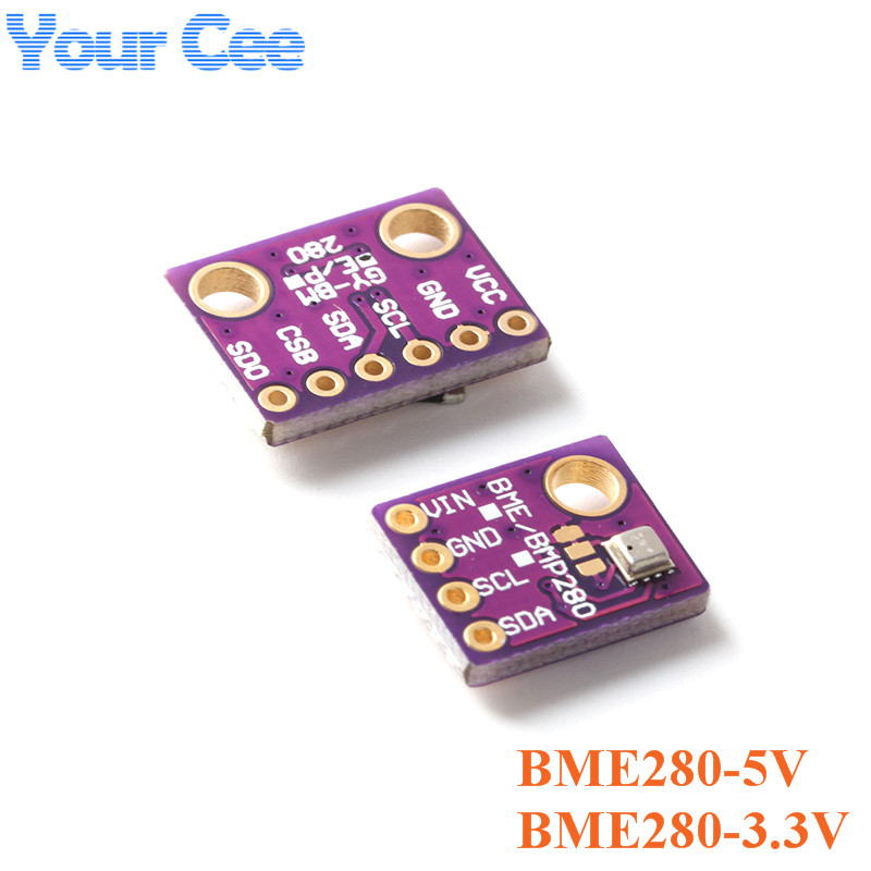 <font><b>BME280</b></font> 5V 3.3V Digital Sensor Temperature Humidity Atmospheric Pressure Sensor Module I2C <font><b>SPI</b></font> for Arduino Embedded Smart Home image