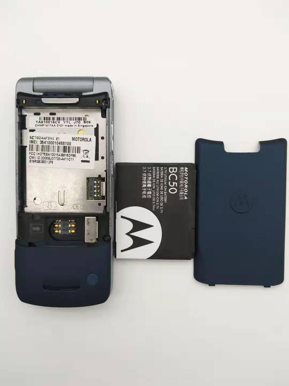Купить с кэшбэком 100% Original Motorola Krzr K1 Flip Unlocked GSM Bluetooth MP3 FM Radio Mobile phone Refurbished Free shipping