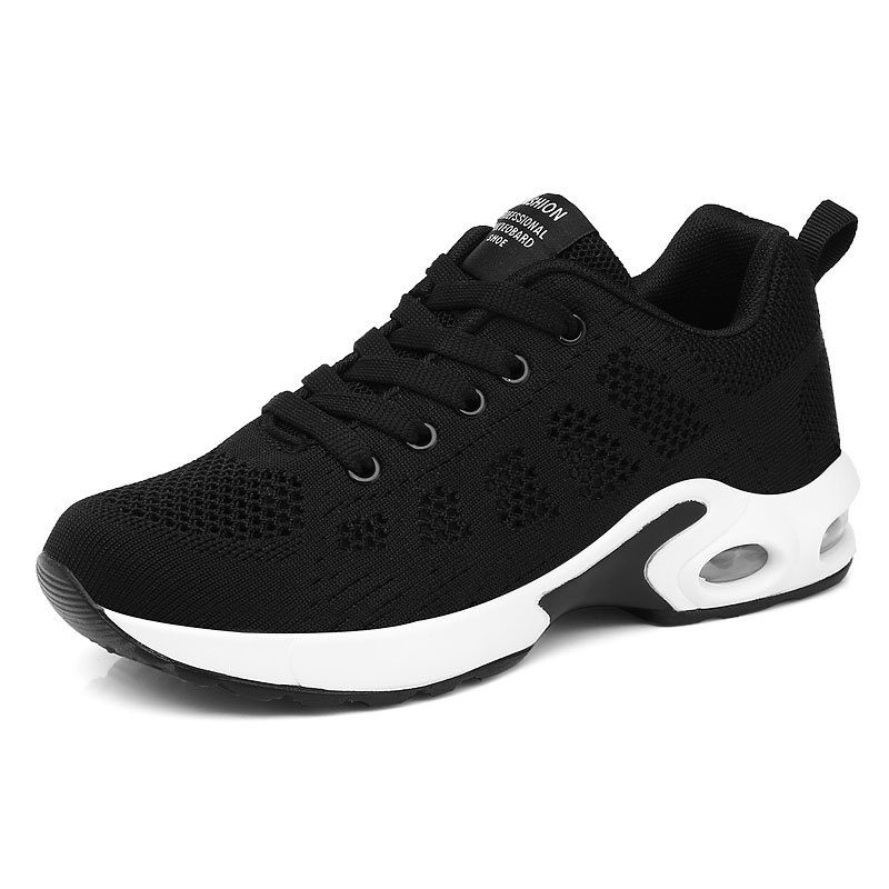 Женские кроссовки, дышащие, на шнуровке, осень 2020