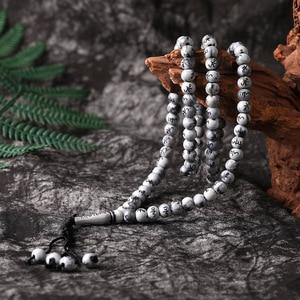 Image 5 - New 99pcs Allah Middle East Bracelets Tesbih Islamic Prayer Beads Tasbih Muslim Prayer Beads Rosary Charm Jewelry Islam Jewelry