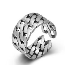 925 sterling silver fine jewelry for men women feather fashion opening couple gift ladies ring 925 Sterling Silver Fine Jewelry For Men Women Twist Tail Opening Couple Gift