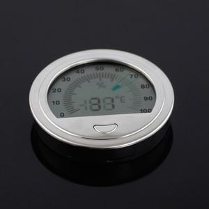 Round Cigar Hygrometer Pocket