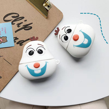 3D Cute Cartoon Wireless Earphone Case For Apple AirPods 2 pro Silicone Charging Headphones Case for Airpods Protective Cover 3d cute big hero wireless bluetooth earphone for apple airpods 1 2 silicone charging headphones cases baymax airpods pro covers