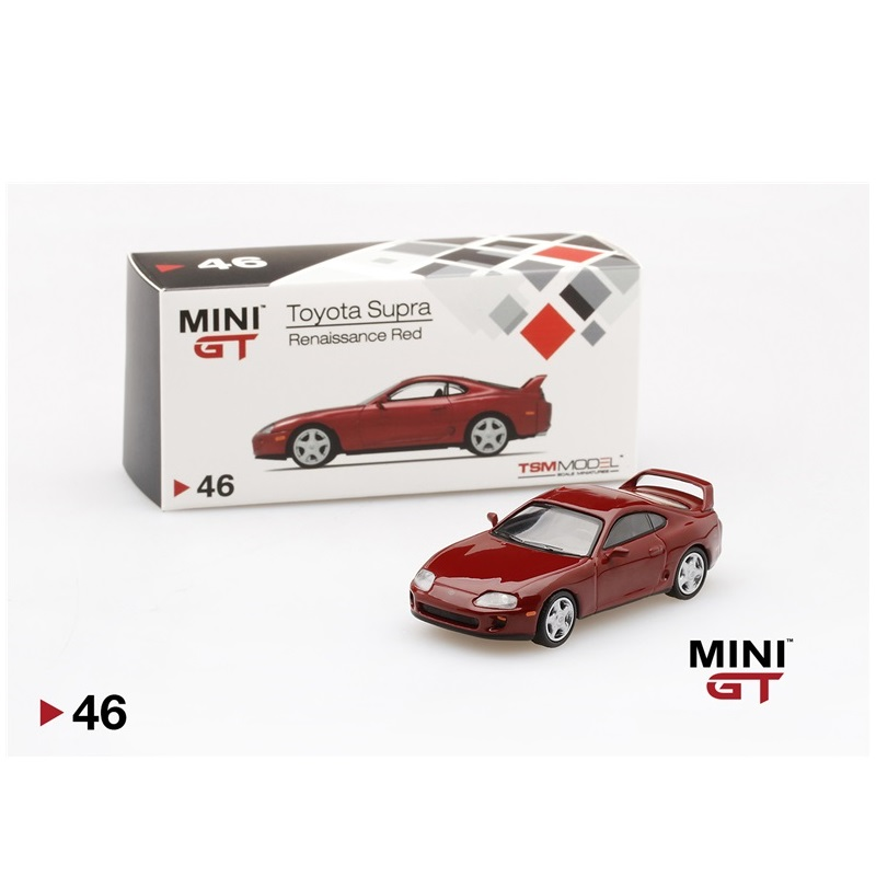 MINI GT 1:64 Toyota Supra (JZA80) Super Red Diecast Model Car
