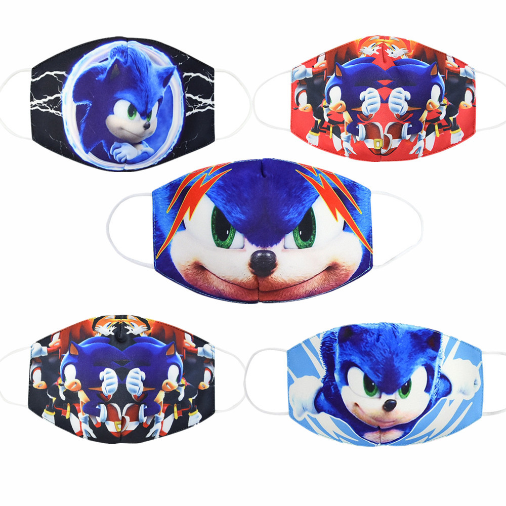 2020 Adult Kids Caroon Anime Cosplay Trendy Masks Unisex Dust Respirator Washable Reusable Fashion Face Mouth Mask
