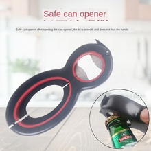 2pcs Multifunctional Stainless Steel Character Can Opener Creative Kitchen Gadgets Beer Bottle Opener Widget Kitchen Accessories multifunctional stainless steel 8 shaped can opener creative six in one gourd shaped wine bottle opener kitchen gadgets