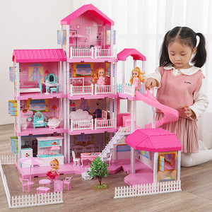 Baby DIY Doll house Pretend To