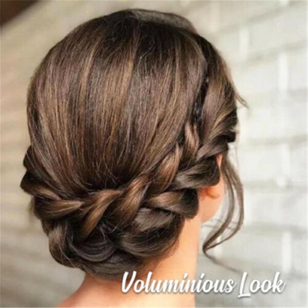 3.5cm Wide Synthetic Wig Twist Elastic Hair Bands Braids Bohemian Plait Headbands For Women Stretch Girls Hair Accessories