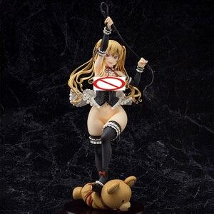 Image 4 - Asanagi סקסי ילדה דמות ילד רוקט Kurone 1/6 בקנה מידה PVC Actidon דמות אנימה איור דגם צעצוע סקסי איור אסיפה בובה מתנה