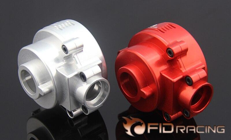 дифференциальный редуктор - FIDRACING CNC precision machining differential gearbox housing for LOSI DBXL