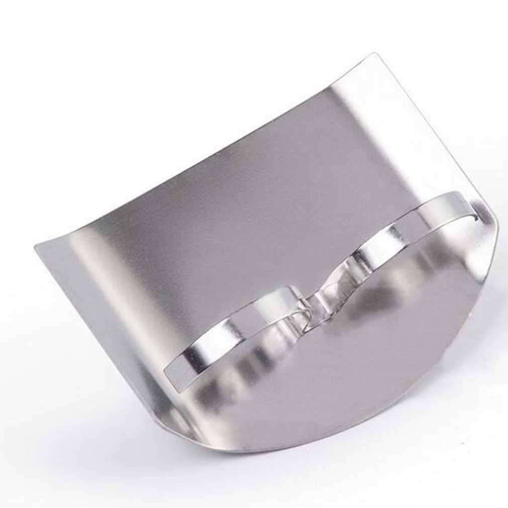 Stainless Steel Jari Penjaga Melindungi Jari Tangan Jari Tangan Brankas Protector Slice Pisau Memotong Jari Perlindungan Alat Dapur