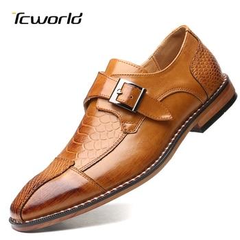 chaussures de luxe hommes en cuir mocassins  1