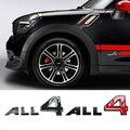 Для BMW MINI Cooper S Countryman Paceman All4 Эмблема Металлические Буквы дверь КРЫЛО боковой логотип значок табличка наклейка для автомобиля украшение