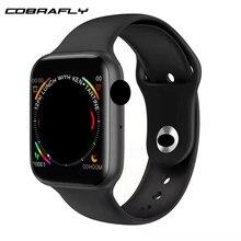Cobrafly IWO 10 Smart Watch 1.54 inch Screen Bluetooth Call Dial Answer ECG Heart Rate Monitor PK 8 Smartwatch for Men Women