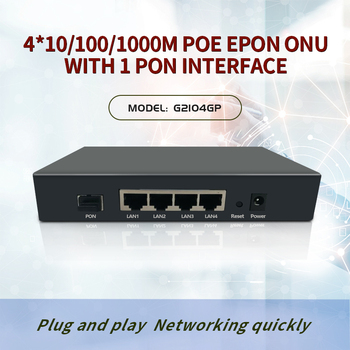 4-Port Gigabit Epon poe onu for IP Carmer GEPON ONU with 4G POE  EPON ONU OLT russell stannard onu alberti kvantseiklus
