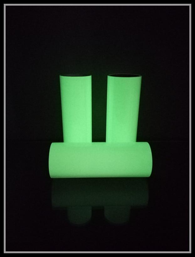 Night Light Printing Adhesive Paper Yellow Glistening Green Luminous Protector Pvc2-4 Acrylic Storing Shining Adhesive Paper