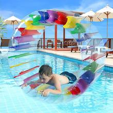 Roll-Ball Water-Wheel-Roller Swimming-Pool-Toys Giant Inflatable Float for Kids Boys