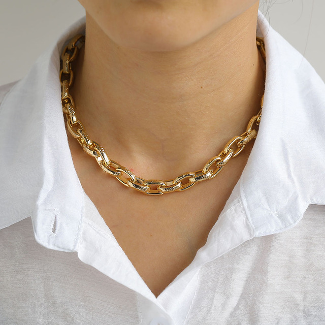 Layered Necklace Chain  6
