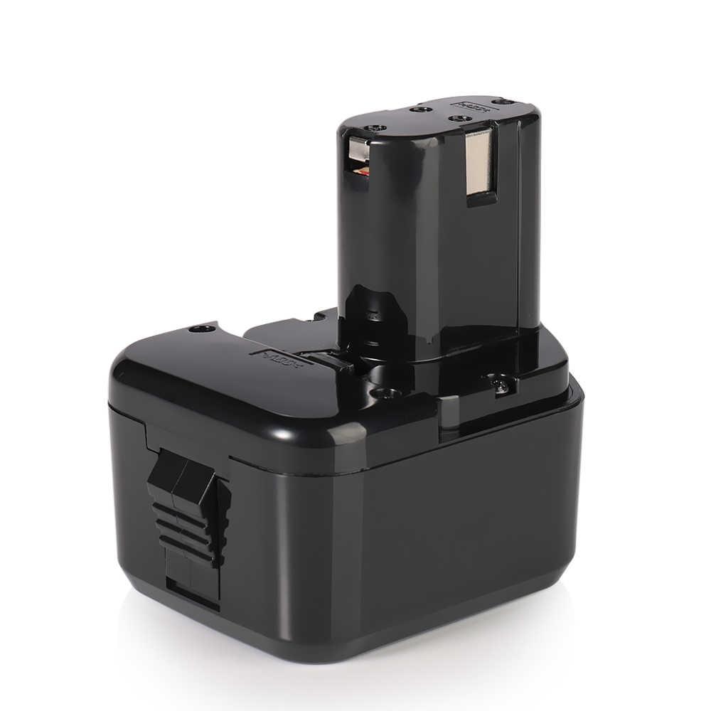 Высокое качество 2x2000 мАч 12V 2.0Ah Батарея для экскаватора Hitachi EB1214S 12V EB1220BL EB1212S WR12DMR CD4D DH15DV C5D