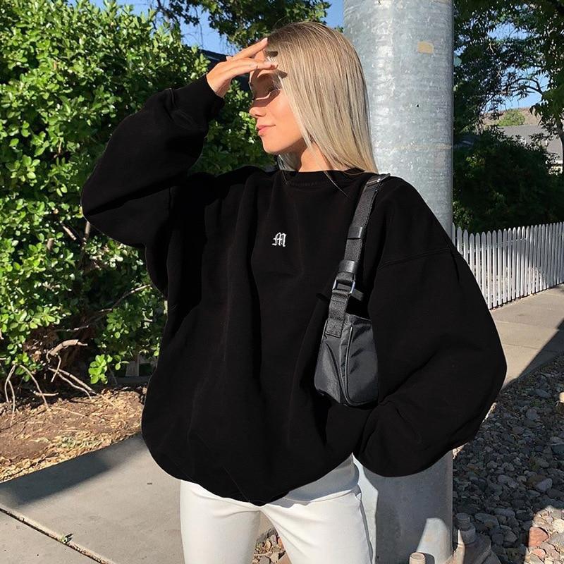 2021 Spring Sweatshirts Streetwear new Fashion Embroidery mushroom Indie Aesthetic 90s Long Sleeve Summer Hoodies clothes 12