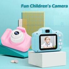 Детская цифровая камера, детская мини-камера, игрушка 1080p HD, 2 дюйма, большой экран, развивающая игрушка, подарок на день рождения для малышей, для мальчиков и девочек