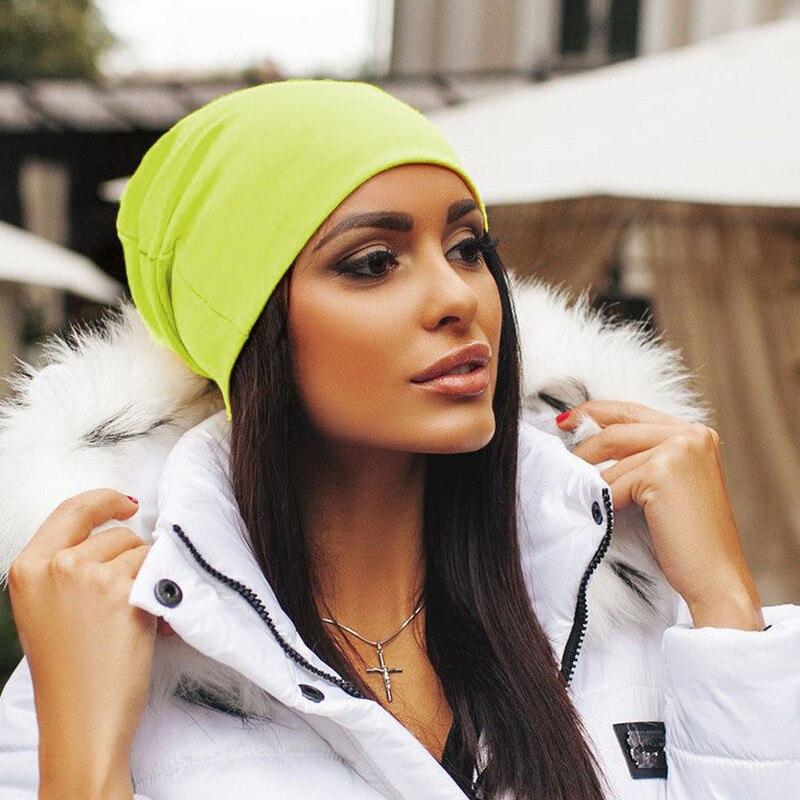 New Fashion Unisex Men Women Beanie Knit Hat Winter Warm Cap Slouchy Cotton Ski Hats Men Women Warm Plain