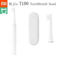 Original Xiao Mi Mi Jia T100 Mi สมาร์ทไฟฟ้าหัวแปรงสีฟัน 46g ความเร็ว 2 Xiao Mi Sonic แปรงสีฟัน Whitening oral Care Zone RE MI ND