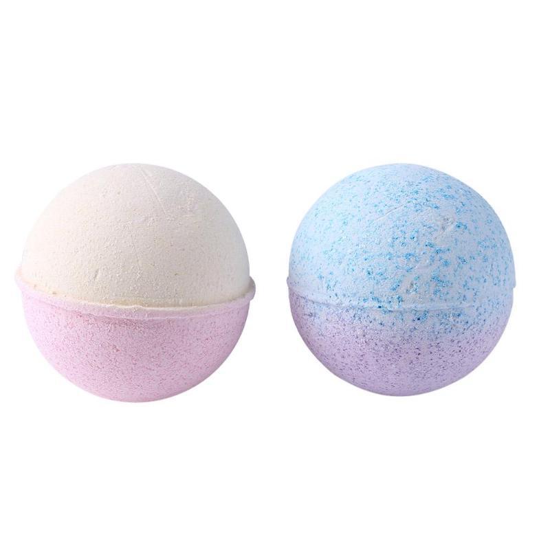 Body Bath Ball Bomb Shape Deep Sea Salt Natural Bubble Bath Bombs Ball Good Foaming Effect And Good Foamx Fine Pore