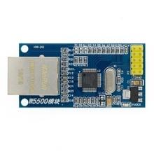 10 Uds W5500 Módulo de red Ethernet hardware TCP / IP 51 / STM32 microcontrolador Programa sobre W5100