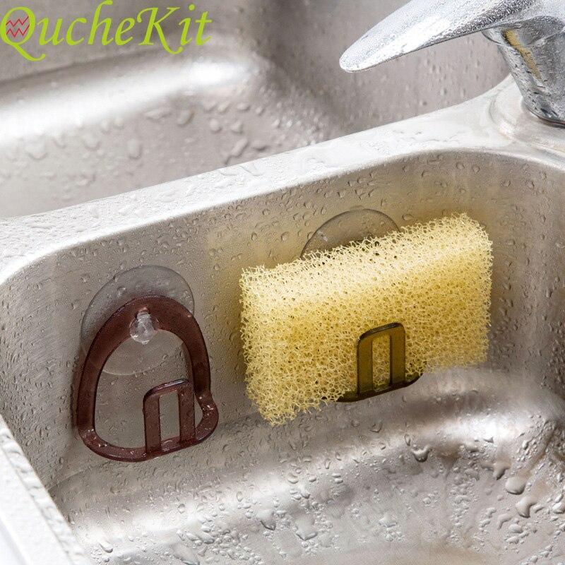 Kitchen Storages Shelf Suction Cup Sink Drain Rack Brothroom Shelf Towel Soap Dish Holder Sponge Storage Holder Rack Robe Hooks
