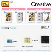 LOZ Mini Building Blocks Motorcycle Sheep  6
