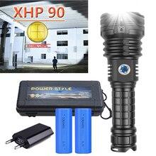 500000 лм xhp90.2Most светодиодный фонарик Фонарик USB XHP50 с перезаряжаемые тактические фонари 18650 или 26650 яркие xhp70 ручной фонарь
