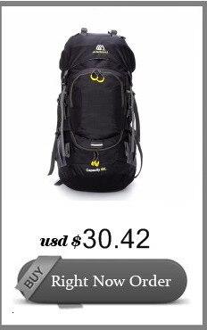 Cavaleiro livre 60l acampamento caminhadas mochilas saco